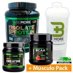 100% ISOLATED PROTEIN + CREATINE CREAPURE + CHEWABLE BCAAS + PREMIUM SHAKER FROM GIFT!