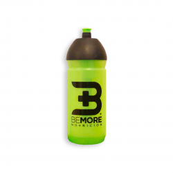 SEMI-TRANSPARENT BEMORE® 600 ML BOTTLE. PERFECT FOR THE CONSUMPTION OF OUR PRODUCTS
